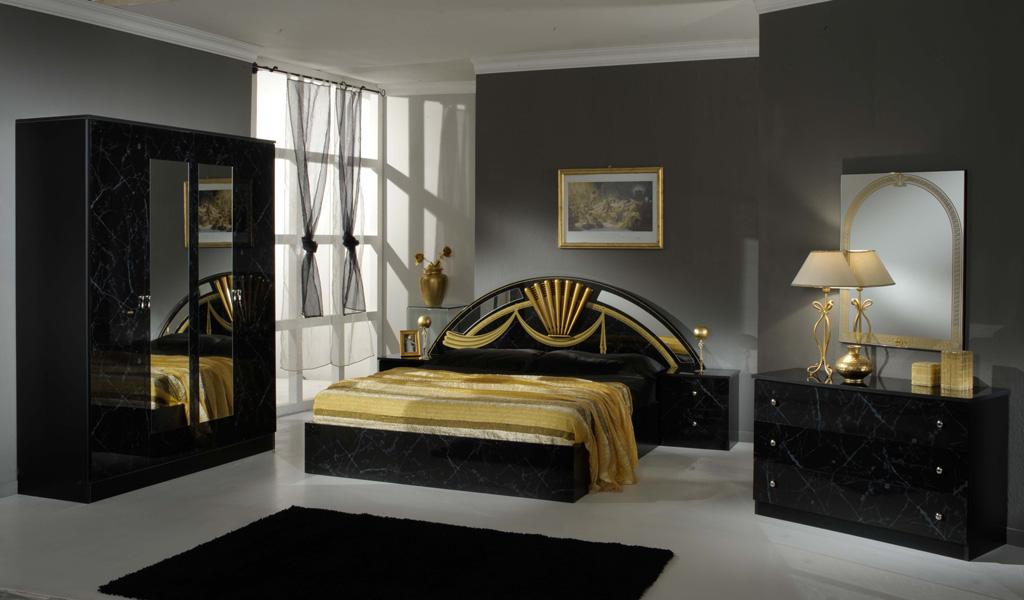 economico. Black Bedroom Furniture Sets. Home Design Ideas